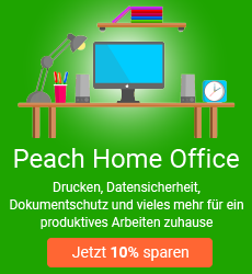 Peach Home Office