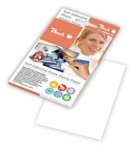 Peach selbstklebendes Fotopapier, 120g/m2, 10x15cm, 10 Blatt