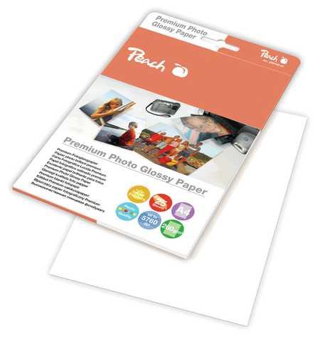 Peach Premium Photo Glossy Papier A4 260 g/m2, 25 Blatt